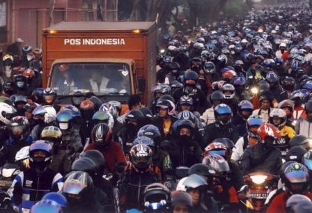 jumlah jutaan motor di indonesia
