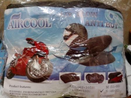 Grosir Pelapis Jok Motor AirCool