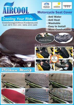 Distributor Sarung Jok Motor AirCool - 0878 3913 2939